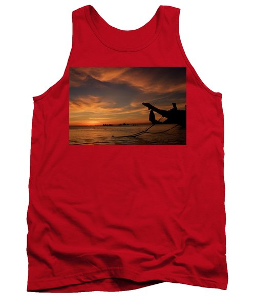 Koh Tao Island In Thailand Tank Top
