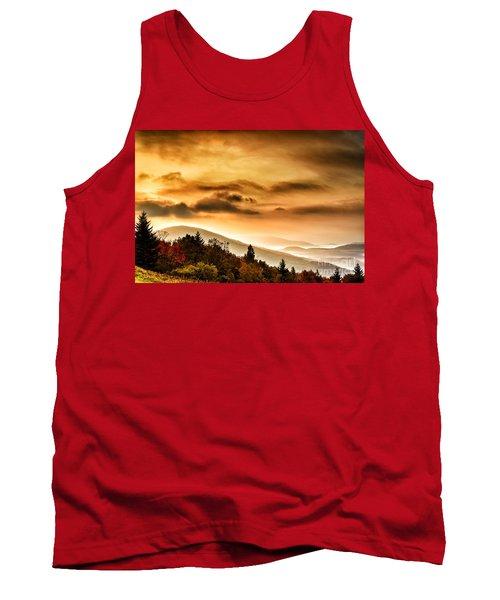 Allegheny Mountain Sunrise #33 Tank Top