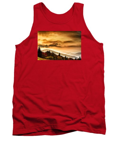 Allegheny Mountain Sunrise Tank Top