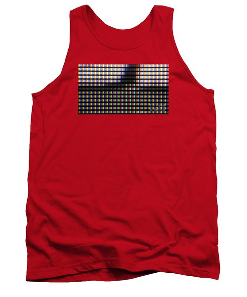 Clouseup Of The Plasma Tv Screen Tank Top by Odon Czintos
