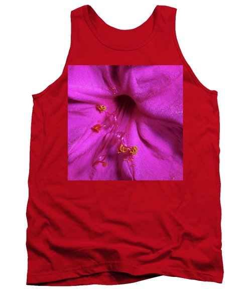 4 O'clock Bloom Tank Top by Richard Rizzo