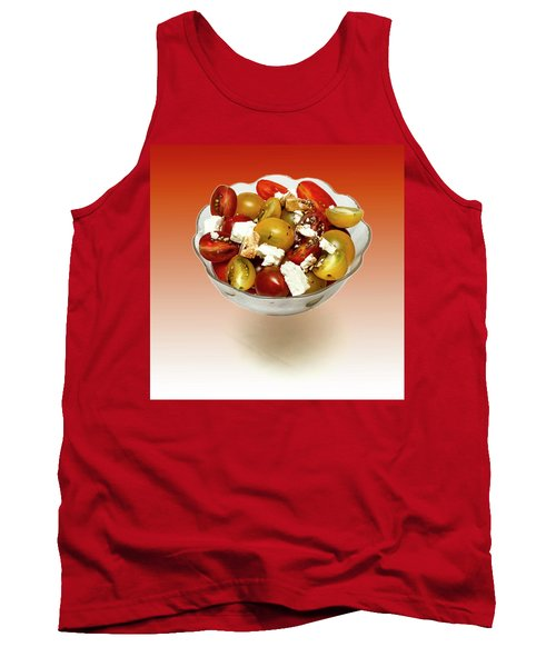 Plum Cherry Tomatoes Tank Top by David French