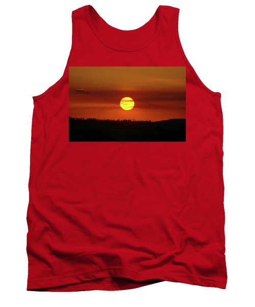 Tank Top featuring the photograph 4- Sunset by Joseph Keane
