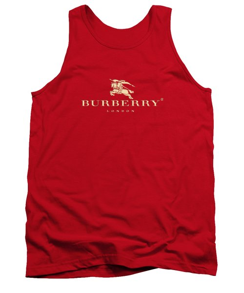 Burberry And Fashion Tank Top