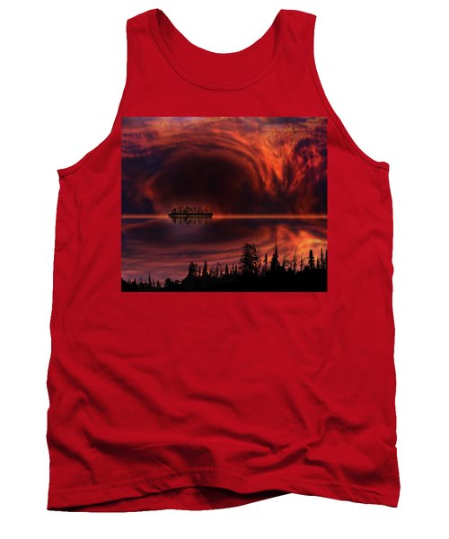 Tank Top featuring the photograph 4385 by Peter Holme III