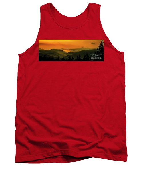 Tank Top featuring the photograph Allegheny Mountain Sunrise by Thomas R Fletcher