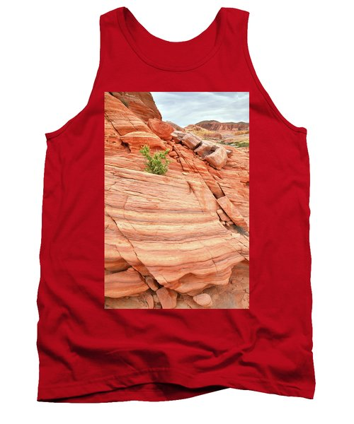 Tank Top featuring the photograph Colorful Wash In Valley Of Fire by Ray Mathis