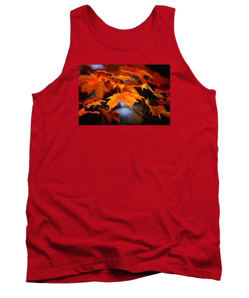 Maple Leaves Tank Top