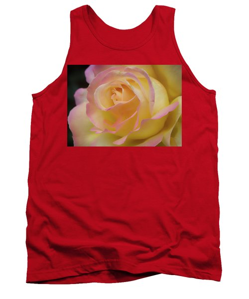 Rose Beauty Tank Top by Shirley Mitchell