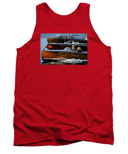 Classic Wooden Runabouts Tank Top