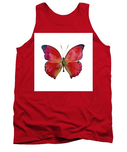 83 Red Glider Butterfly Tank Top