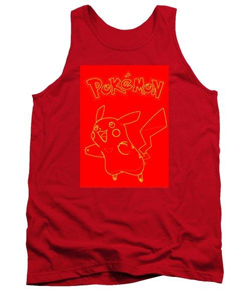 Pokemon - Pikachu Tank Top by Kyle West