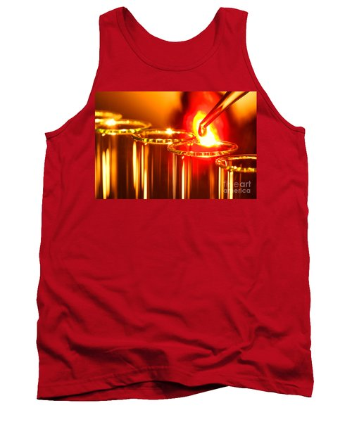 Scientific Experiment In Science Research Lab Tank Top