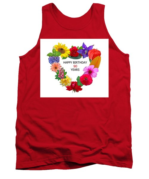 90th Birthday Tank Top