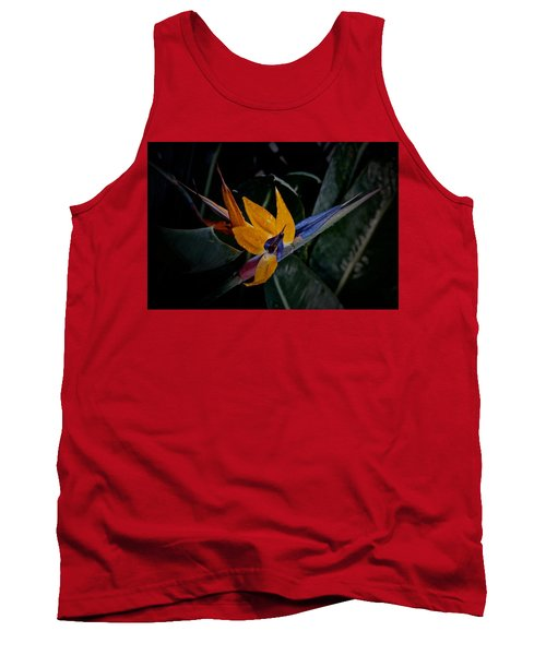 A Bright Blooming Bird Tank Top by Tim Good