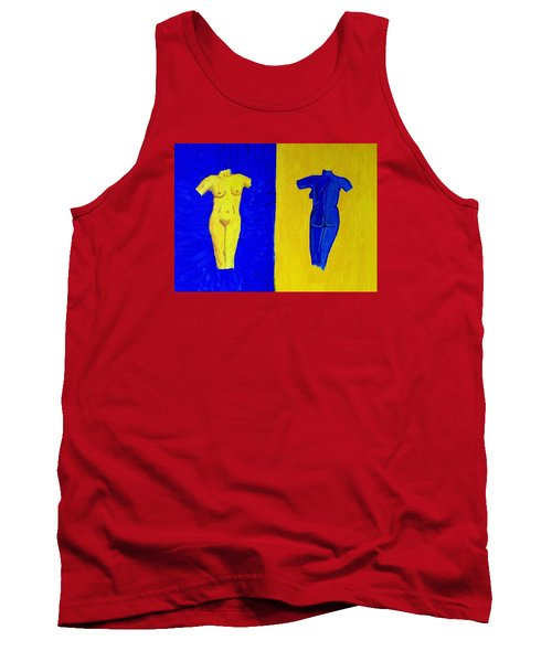 Day And Night Tank Top by Brenda Pressnall
