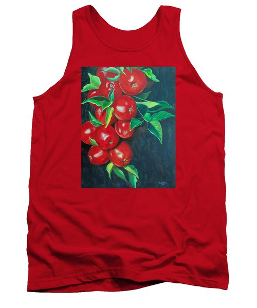 Tank Top featuring the painting A Bumper Crop by Susan DeLain