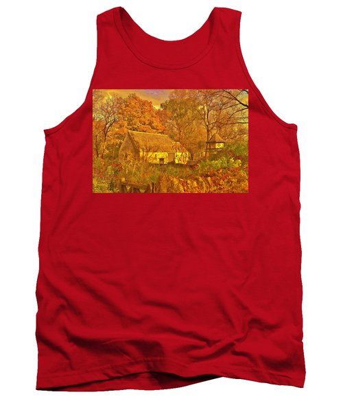 A Cotswald Fall  Tank Top by Daniel Thompson
