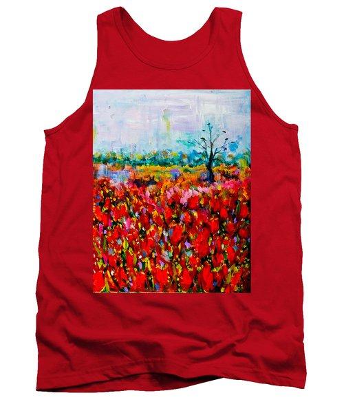 A Field Of Flowers # 2 Tank Top