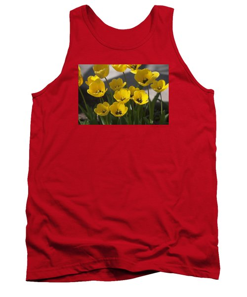 A Gathering Of Tulips Tank Top
