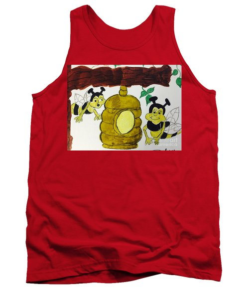 A Honey And The Bees Tank Top