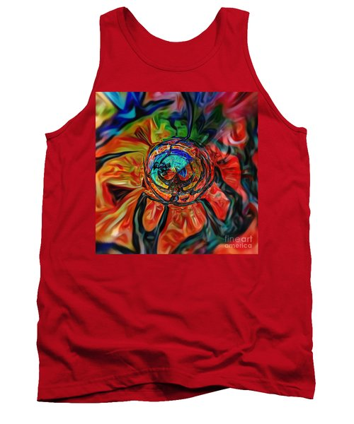 A Kind Of Flower Tank Top