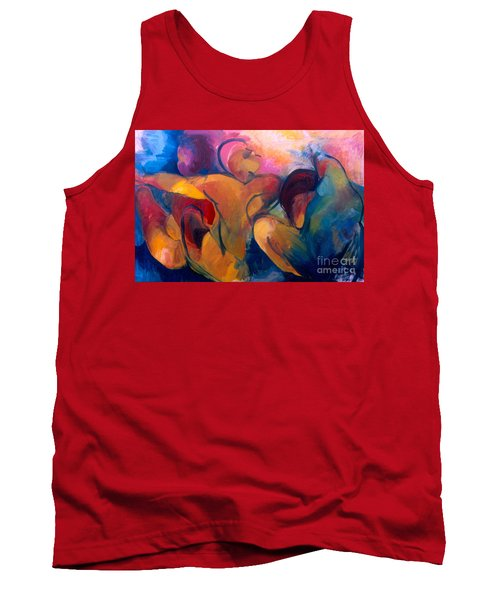 A Passion To Be Raised Tank Top by Daun Soden-Greene