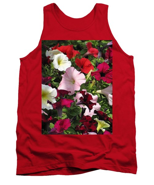 A Plethora Of Petunias Tank Top