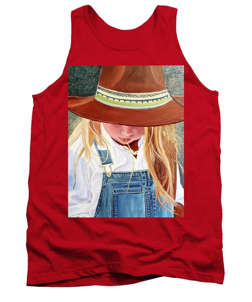 A Real Cowgirl Tank Top