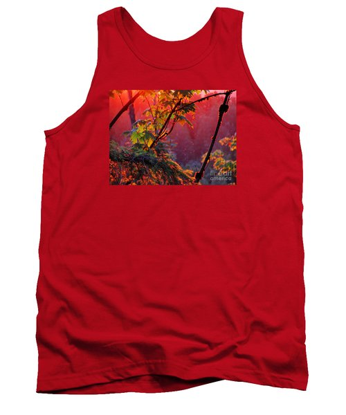 A Season's  Sunset Dusting Tank Top