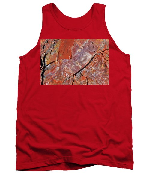 A Slice Of Time Tank Top by Gary Kaylor