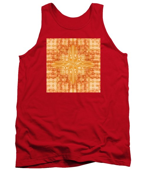 Tank Top featuring the digital art A Splash Of Colors by Michelle H