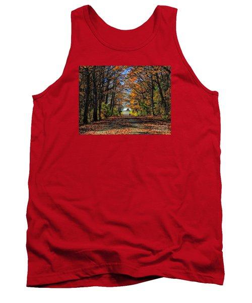 A Stroll Through Autumn Colors Tank Top by Marcia Lee Jones