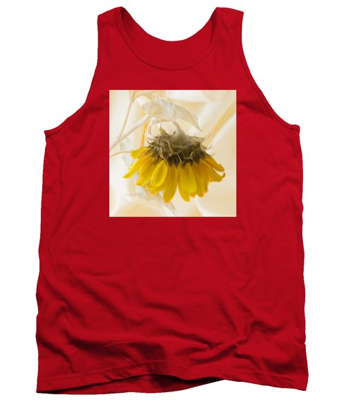 A Suspended Sunflower Tank Top