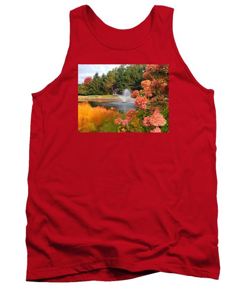 A Vision Of Autumn Tank Top by Teresa Schomig