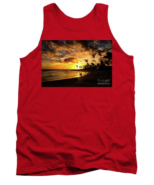A Walk On The Beach Tank Top