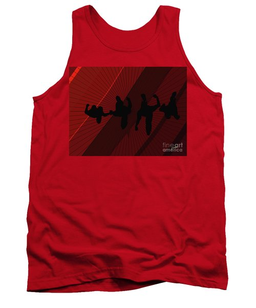 Above Perspective Tank Top