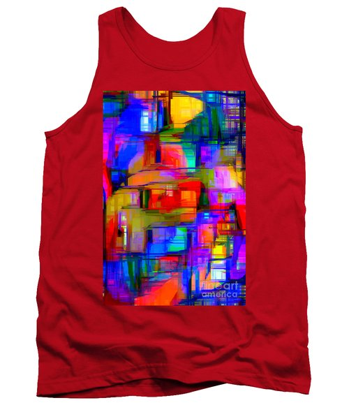 Abstract 1293 Tank Top