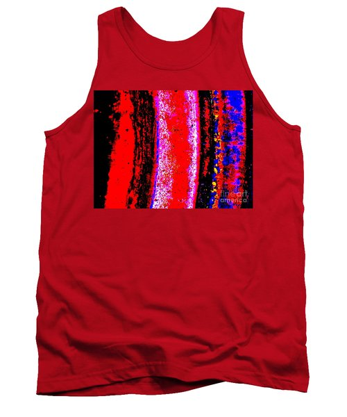Abstract  Abstraction Tank Top by Tim Townsend