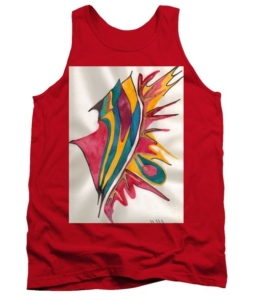 Abstract Art 102 Tank Top
