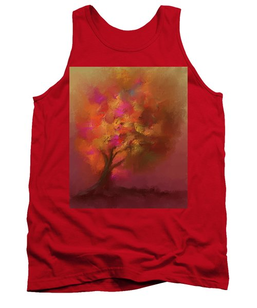 Abstract Colourful Tree Tank Top