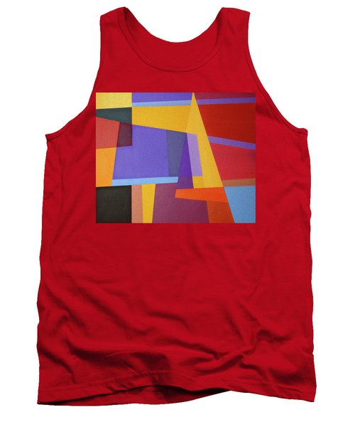 Abstract Composition 7 Tank Top
