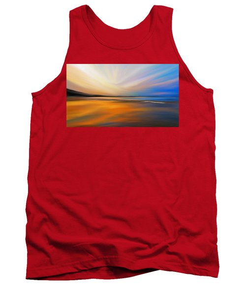 Tank Top featuring the digital art Abstract Energy by Anthony Fishburne