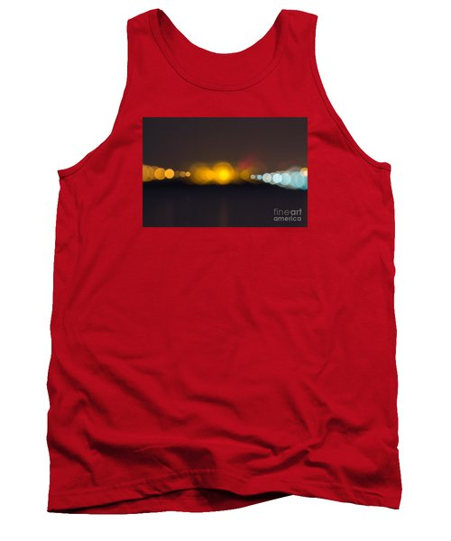 Abstract Light  Tank Top by Odon Czintos