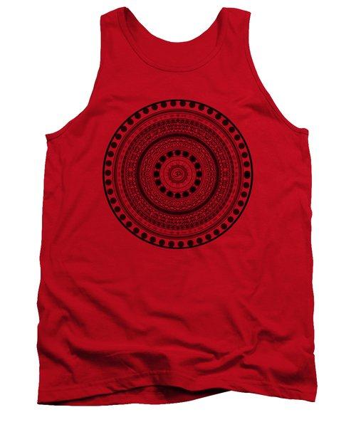 Abstract Om Mandala Tank Top