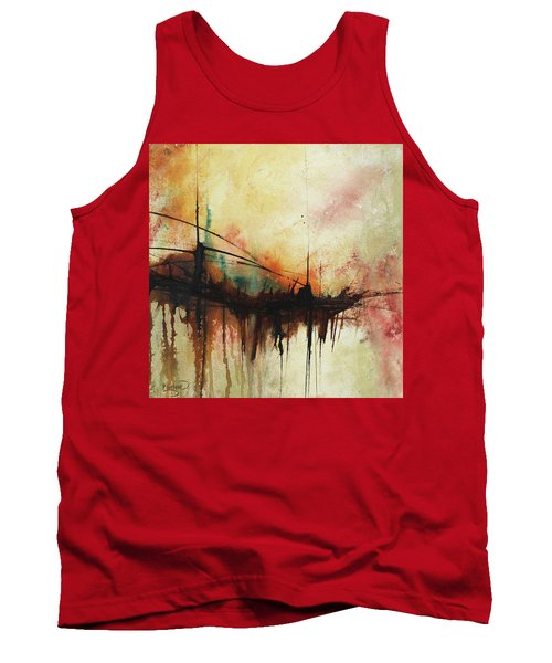 Abstract Painting Contemporary Art Tank Top