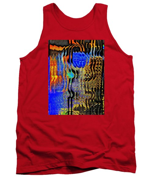Tank Top featuring the photograph Abstract Photography 001-16 by Mimulux patricia no No