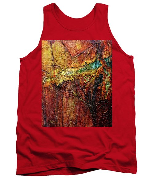 Abstract Rock 2 Tank Top