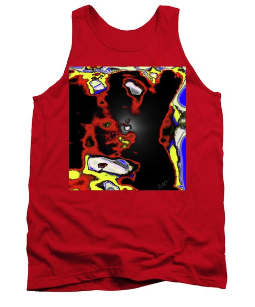 Abstract Shell Creature Tank Top by Gina O'Brien