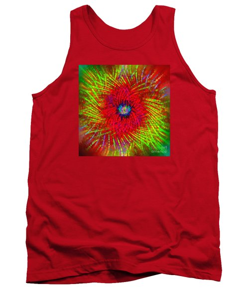 Tank Top featuring the photograph Abstract Swirl 03 by Jack Torcello
